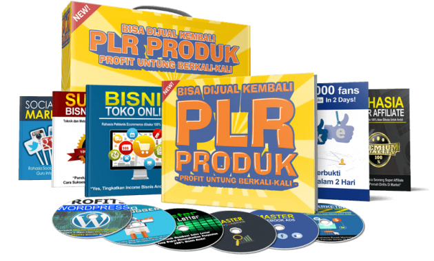 download gratis 17 Produk PLR Blogspot